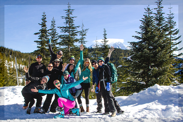 Mt. Tahoma Trail Ski