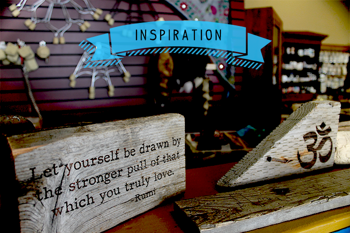 When Inspiration Knocks