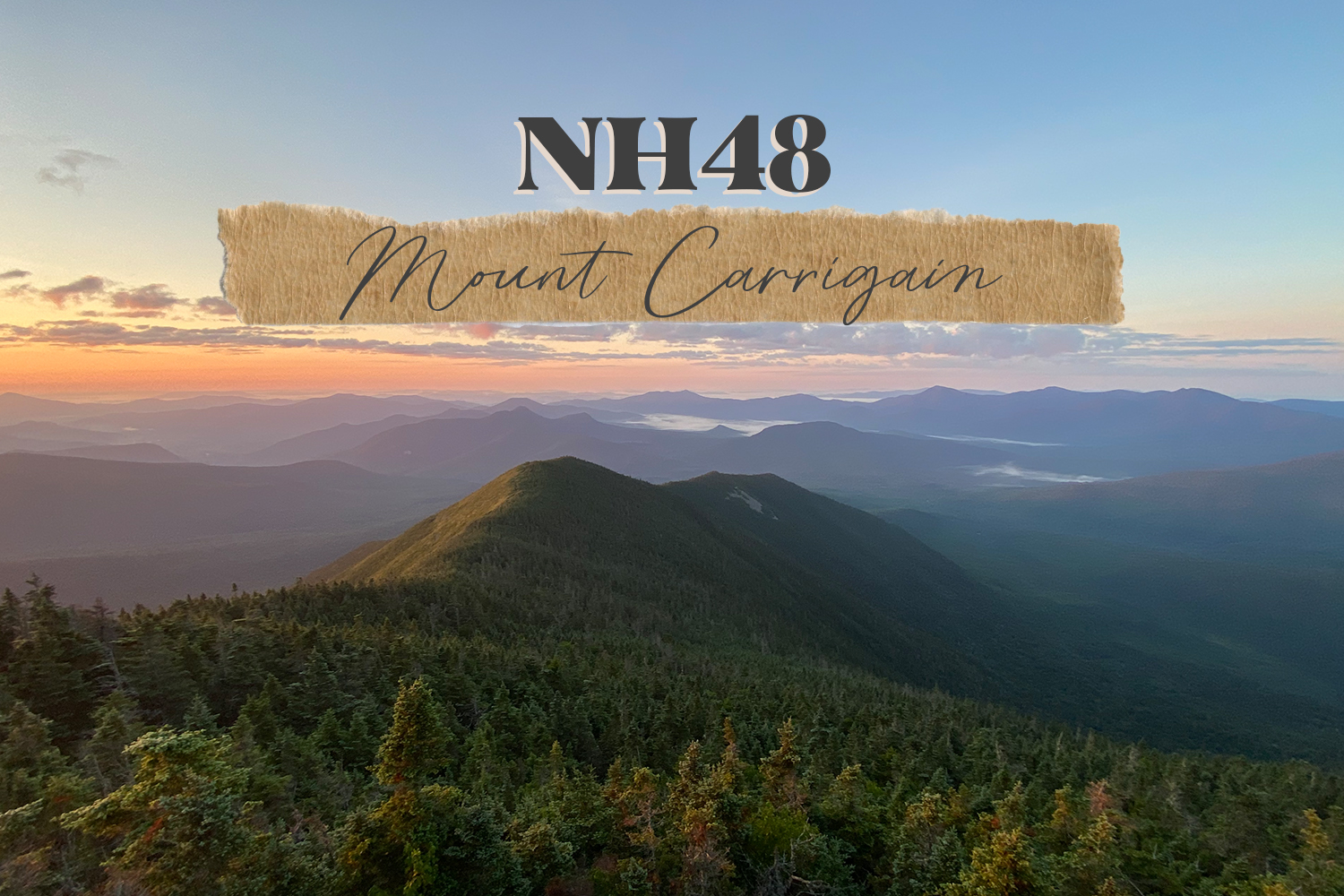 NH48: Mount Carrigain Backpacking Adventure